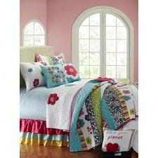 Abby/Jane Yo Yo Decorative Cotton Throw Pillow