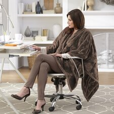 Snuggler Electric Heated Cape and Throw Blanket