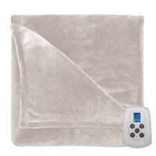 Comfort Plush Electric Heated Blanket