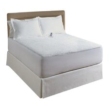 Sherpa Plush Electric Heated Mattress Pad