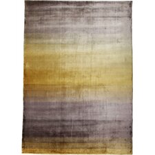 Grace Yellow Stripe Area Rug