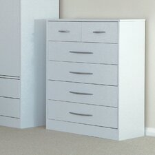 Arctic Hare 6 Drawer Chest of Drawers