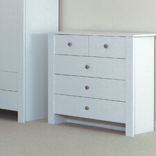 Arctic Fox 5 Drawer Chest of Drawers