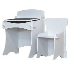2-tlg. Schreibtisch und Stuhl-Set Stuff4Kids
