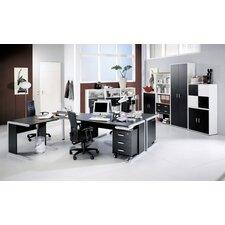 Black and White Drawer Set