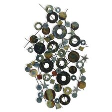 BJ Keith Designs Celestial Circles and Stars Wall Décor