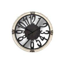 "Oversized 30.25"" Round Wall Clock"