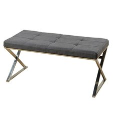 Contemporary Upholstered Bedroom Bench