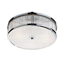 Aramis 3 Light Flush Ceiling Light