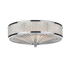 Oslo 3 Light Flush Ceiling Light
