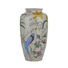 Vase Floral/Bird