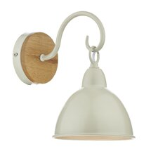 Blyton 1 Light Flush Wall Light