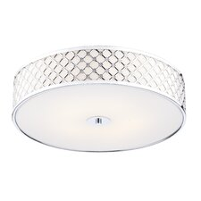 Civic 2 Light Flush Ceiling Light