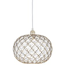 28cm Juanita Glass Oval Pendant Shade