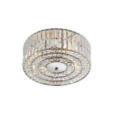 Crystal 4 Light Flush Ceiling Light