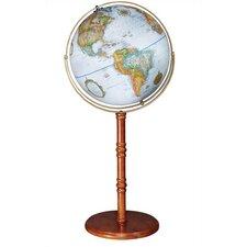 """Edinburgh II 16"""" Floor/Desktop World Globe"""