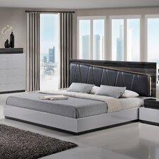 Lexi Upholstered Platform Bed