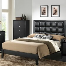 Carolina Upholstered Panel Bed