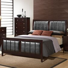 Rosa Upholstered Panel Bed
