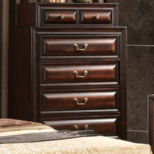 Sarina 7 Drawer Chest with Mirror