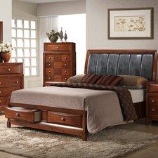 Oasis Upholstered Platform Bed