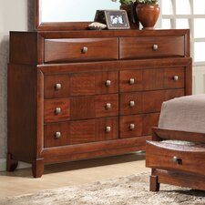 Oasis 8 Drawer Dresser with Mirror
