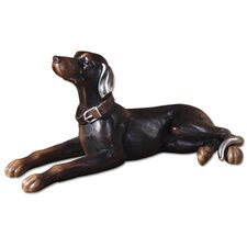 Resting Dog Figurine