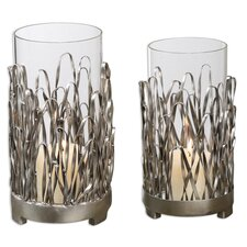 4 Piece Corbis Metal Hurricane Set