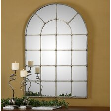 Barwell Arch Window Wall Mirror