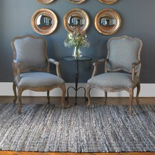 Aberdeen Blue Gray Area Rug