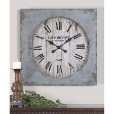"Oversized 29.13"" Paron Wall Clock"