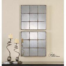 Derowen Squares Mirror (Set of 2)
