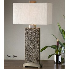 "Canfield 32"" H Table Lamp with Rectangular Shade"