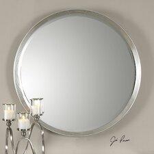 Serenza Round Silver Wall Mirror