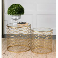 Zoa 2 Piece End Tables Set