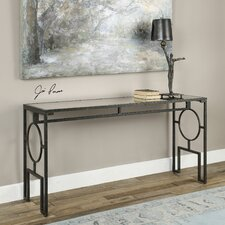 Jabrell Mirror Console Table