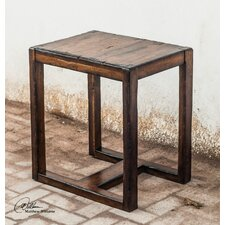 Deni Wooden End Table