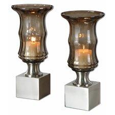 Araby Glass Votive (Set of 2)