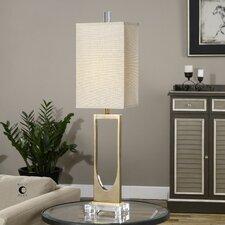 "Genivolta 38.25"" H Table Lamp with Rectangular Shade"