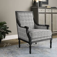 Scott Wood Frame Arm Chair