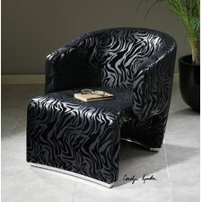 Yareli Zebra Accent Chair