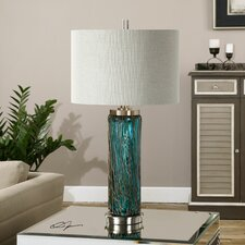 "Almanzora 29.75"" H Table Lamp with Drum Shade"