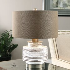 "Saltillo 19.25"" H Table Lamp with Drum Shade"