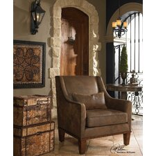 Clay Leather Arm Chair