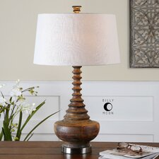 """Diega 27.5"""" H Table Lamp with Empire Shade"""