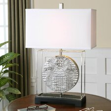 "Taratoare 29"" H Table Lamp with Rectangular Shade"