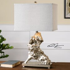 """Rilletta 27.5"""" H Table Lamp with Rectangular Shade"""
