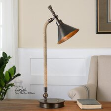 """Duvall Task 27.5"""" H Table Lamp with Bell Shade"""