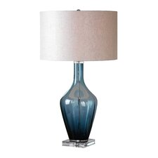 "Hagano 28.75"" H Table Lamp with Drum Shade"