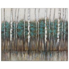 Edge of the Forest by Grace Feyoc Painting Print on Canvas